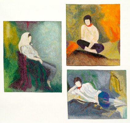 Relaxed Triptych